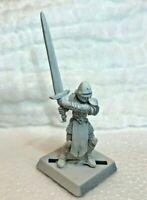 paladin sword fighter armored metal reaper d&d miniature mini soldier figure fig