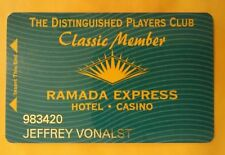 Ramada Express  000007F9 Hotel Casino Nevada Classic Member Slot Card Great For Collection