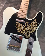 Gold Black Eagle Bakelite Pickguard fits Fender® Telecaster® Tele® style 8 Hole