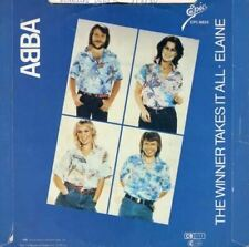 "The Winner Takes It All / Elaine 7"" (UK 1980) : ABBA"