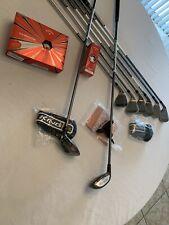 King Cobra Combo Iron Set  Sr Graphite 8clubs 2/3Hybrid 4/5 HYB 6to Gap W NEW