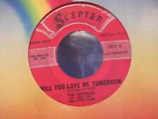 45 % THE SHIRELLES BOYS / WILL YOU LOVE ME TOMORROW ON SCEPTER  RECORDS vg++