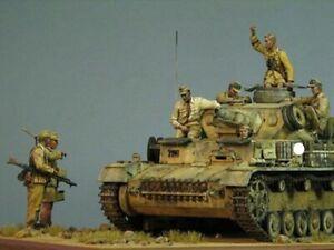 1/35 resin model WWII German African Legion 7 Soldiers Unassembled Unpainted