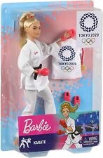 Barbie Karate Tokyo 2020 Olympics Doll (with defect)