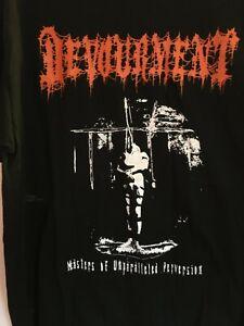 Devourment Shirt RARE 2004 Size L