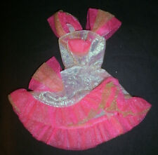 Barbie Sindy Doll Clothes: Rosa, Vestito D'argento, Fiesta, ballo, festa?