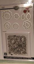 sizzix 1 stamp & 10 die Flowers #6 set RRP £19.99 by stephanie ackerman
