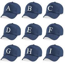 A - Z  Embroidered Baseball Caps Hat Girls Boys Children Kids Summer Navy