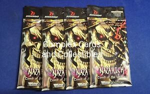 Weiss Schwarz - Overlord Nazarick Tomb of the Undead Booster Pack Lot - New