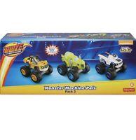Fisher-Price Nickelodeon Blaze & the Monster Machines Die-Cast Pals Set of 3