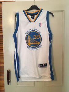 Golden State Warriors Basketball Jersey Curry 30 XL
