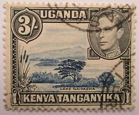 Kenya, Uganda and Tanganyika. Fine used George VI high value.