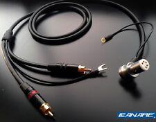 Canare starquad tonearm / phono cable - for Linn, SME, Roksan etc - 24AWG