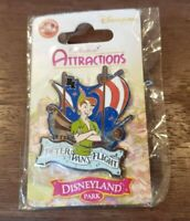 Disney Pin Trading Disneyland Paris Peter Pan's Flight Pin NEW DLP