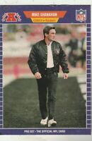 FREE SHIPPING-MINT-1989 Pro Set #194 Mike Shanahan raiders PLUS BONUS CARDS
