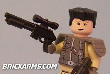 Brickarms M47 Tactical Shotgun for Lego Minifigures (5 Pack) Black