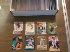 MIAMI MARLINS LARGE 500 CARD LOT, INSERTS, ROOKIES & PARALLEL CARDS ONLY