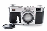 Excellent++ Zeiss Ikon Contax II 35mm Rangefinder Camera w/ Sonnar 5cm f/2 Lens