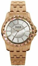 ELLE Watch W1418 RADIANT Rose Gold, Mother of Pearl Dial, & Rose Gold Band
