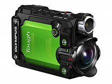 OLYMPUS action camera STYLUS TG-Tracker Green JAPAN USED
