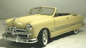 1949 FORD  Custom Convertible 1:24 Franklin Mint