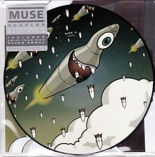 "Muse - Reapers (Album Version/ Live Version)- 7"" RSD 2016 Picture Vinyl 45 - New"