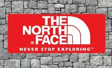 The North Face Pvc Vinyl Plastic Banner 2x5ft Wall Flag Garage or Mancave
