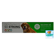 Dentapaste So Strong Gums Tea Tree Oil Toothpaste with Brush for Dog & Cat 50gms