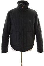 G-Star Mens Padded Jacket Size 40 Medium Black Polyester