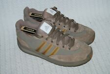 Adidas Brown Suede Men's Trainers/Casual Shoes-Size 10.