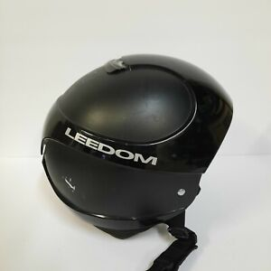 LEEDOM Ski Snowboard Helmet Size XXL USA Winter Outdoor Sports Protection Black