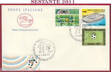ITALIA FDC CAVALLINO CAMPIONATO ITALIANO DI CALCIO 1991 92 ROMA U664