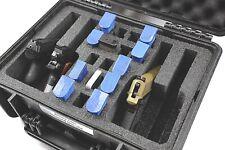 "New Quickdraw 4 pistol handgun gun foam insert kit fits your Pelican â""¢ 1450 case"