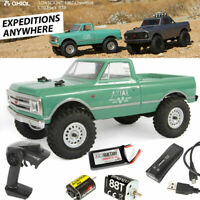 Axial AXI00001T1 1/24 SCX24 1967 Chevrolet C10 4WD Truck Ready To Run RTR Green