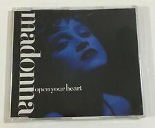 Madonna - Open Your Heart (Sire 7599-20597-2) CD single (1986) 3-tracks (German)