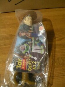 BURGER KING TOY STORY WOODY DOLL 1995 NEW IN SEALED BAG