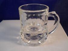 VINTAGE FEDERAL SHOT GLASS / TOOTHPICK HOLDER MUG CORDIAL GLASS