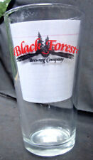 Black Forest Brewing Company CO Micro Brewery Pint Beer Glass 1st Anniv. Ed 1996