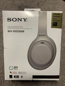 Sony WH-1000XM4 Wireless Noise Cancelling Headphones Platinum Silver -BRAND NEW!