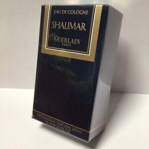 Shalimar Eau De Cologne GUERLAIN 75ml EDC new BNIB sealed !RARE! older packaging