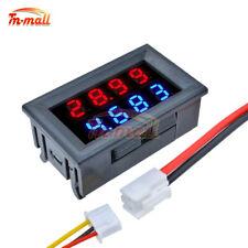 Dc 100v200v Voltmeter Ammeter 10a Dual Led Digital Volt Amp Meter Gauge 4 Bit