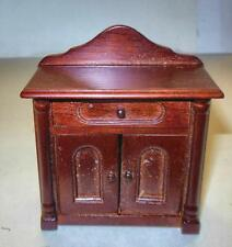 Vintage Victorian Night Stand Mahogany #717 Dollhouse Furniture Miniatures