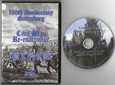150th Anniversary Battle of Gettysburg Re-enactment DVD