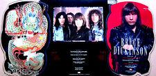 "7"" - Bruce Dickinson (Iron Maiden) Tattooed Millionaire (PICTURE DISC SHAPE) NEW"
