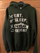 Green Gaming Jumper Hoodie Size L Youth