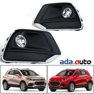 2017 2018 2019 Chevrolet Trax Fog Lights Driving Lamps w/Switch+Harness+Bulbs