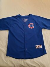 New listing Majestic Authentic MLB Chicago Cubs Alfonso Soriano Sewn Baseball Jersey Mens 54