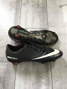 Nike Mercurial Vapor IX FG - 555605 010 Cleats Carbon US 11.5 UK 10.5 Bosnia