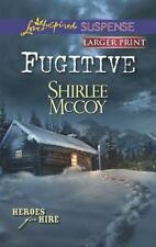 Love Inspired LP Suspense Heroes for Hir: Fugitive by Shirlee McCoy (2013, Pape…