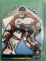 2001-02 Pacific World All Stars Diecut #1 Dominik Hasek Buffalo Sabres Insert